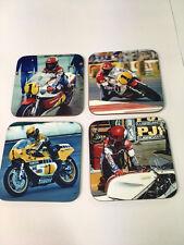 Kenny Roberts American MotoGP Legend COASTER Set