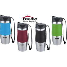Kaffeebecher Coffee to go Thermo-Becher Edelstahl Isolierbecher 380 ml BH-4422