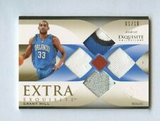 2006-07 UD Extra Exquisite Grant Hill Quad Jersey Patch 1/10 Magic
