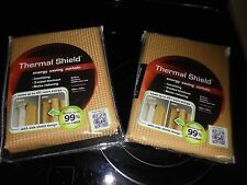 NEW THERMAL SHIELD ENERGY SAVING CURTAINS! BLOCKS UP TO 99% OF LIGHT 40IN X84IN.
