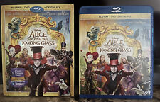 Alice Through the Looking Glass Blu-ray W/Slipcover