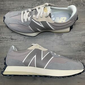 Men's New Balance 327 Grey White Black Size 8.5 D Casual Shoes MS327GDY