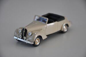 HOTCHKISS 686 Cabriolet 1937 beige claire NOREV presse 1/43 neuve