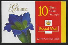 GREAT BRITAIN  1997   Greetings  Flowers  MNH-VF  # Y.T. booklet 1923