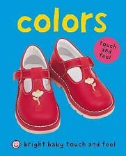 Colors (Bright Baby Touch and Feel)-ExLibrary