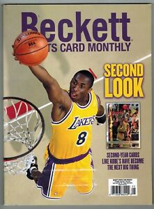 Beckett Sports Card Monthly Price Guide May 2021 Kobe Bryant Topps Chrome Cover
