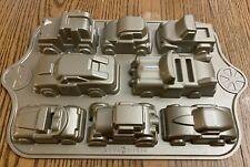 Nordic Ware CARS Heavy Duty Metal Cake Pan Bakeware