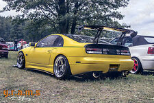 Nissan 300zx Z32 CARBON FIBER Side Steps / Side Skirt Extensions for Racing V6
