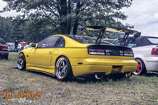 NISSAN 300zx Z32 in fibra di carbonio Side Steps/Lato Gonna estensioni per RACING V6