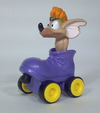 Burger King Rat In A Roller Skate Pull Back And Go Toy