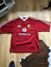 British Lions Adidas 2005 New Zealand Tour Rugby Shirt S/S Size Medium 40-42''