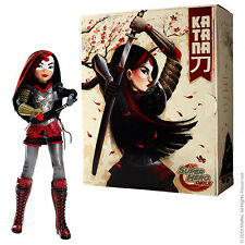 2016 SDCC MATTEL DC KATANA DOLL SIGNED BY KAREN FUKUHARA & 5 ARTISTS! NIB