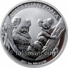 Australia 2011 Koala $1 1 Oz Pure Silver Bu from original Perth Mint Roll