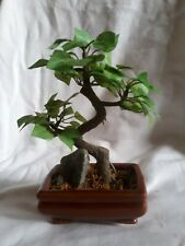 F02  Japanese Topiary Tree In Ceramic Container - Silk
