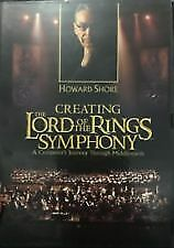 HOWARD SHORE CREATING THE LORD OF THE RINGS SYMPHONY (DVD) R-4- NEW-FREE POST