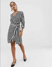 BNWOT VERO MODA VMDREW WRAP STRIPES DRESS