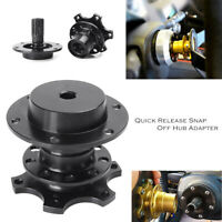 Steering Wheel Hub Adapter Quick Release  Black for Momo Sparco Universal Car
