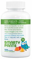 SMARTYPANTS - Kids Fiber Complete Multi + Omega 3 + Vitamin D - 120 Gummies