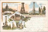 Ansichtskarte Schlachtfeldern um St. Privat 1900  (Nr.871) -I