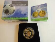 2014 Fifa Football/ Soccer World Cup Brazil 1/4 Oz Gold Coin +Original box & COA