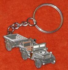 Porte-clé Key ring Editions ATLAS JEEP US Army + remorque 2WW CHYSLER LLC 2009