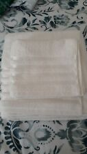 LUXURY BATH SHEET+HAND TOWEL IN CREAM FROM 'THE BATH COMPANY' BRAND NEW