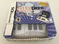 Easy Piano (Nintendo DS, 2010) DS NEW!