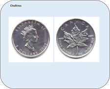 5 DOLARES DE PLATA AÑO 2002   CANADA    ( MB11421 )