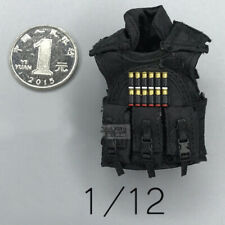 """1/12 Scale Weapon Accessories Vest for 6"""" Action Figure Doll"""