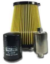 FORD FALCON FG 5.0L V8 BOSS 10/10->on AIR OIL FUEL FILTER KIT (AR3Z9601A, Z928)