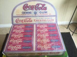 RARE circa1909 Coca Cola gum box (reproduction) display