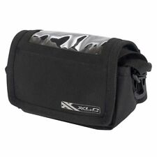 XLC Bicycle Stem Mount Bag with Flap & Clear Phone Sleeve LINK INCLUDED