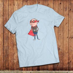 Bullshit man T-Shirt, isnpired by Karl Pilkingtons super hero ideas.