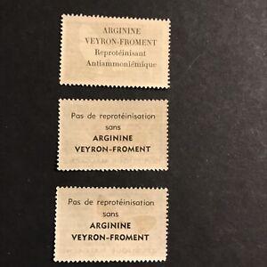 République Malgache Série Papillons Avec Pub Au Dos Arginine Veyron-froment **