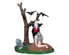 Rare/Retired Lemax Spooky Town Vampire Wakes The Undead #83663 ~ Halloween!