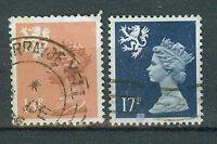 Briefmarken Großbritannien Schottland 1984 Freimarken Mi.Nr.43+44