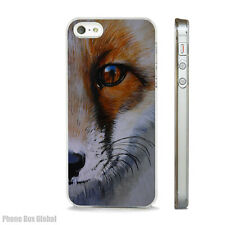 STUNNING FOX FACE NATURE PHONE CASE FITS IPHONE 4 4S 5 5S 5C 6 6S 7 8 SE PLUS X