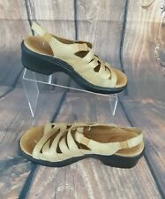 Ariat Womens Tan Strappy Ankle Sling Back Open Toe Sandals Shoes Size 9B