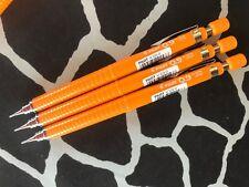 Pilot H-329 0.9mm mechanical pencil x 3 pcs - Orange barrel - Made in Japan