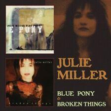 Julie Miller - Blue Pony / Broken Things [New CD] UK - Import