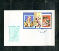 MALAGASY SAMMY DAVIS JR. DELUXE  PERFORATED S/S  FDC