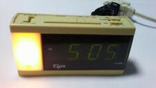 Elgin Digital Alarm Clock with Night Light Model 4033