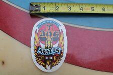 Dogtown Wes Humpston Bulldog Skateboard BDS DTS Reprint Skateboarding STICKER