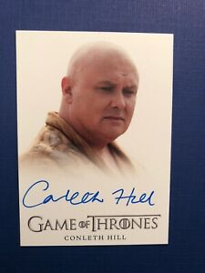 Game of Thrones Season 3 - Conleth Hill as Lord Varys Autograph
