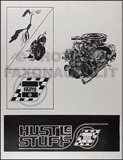 1966 1967 1968 1969 Dodge Plymouth Racing Piezas Catalog y Motor Modificaciones