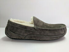 UGG Ascot Charcoal Slipper Mens 10 (Brand New)