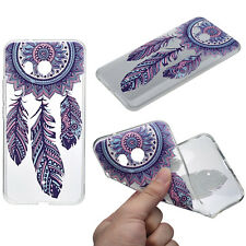 Henna Cover for Cell Phone HTC U11 Case Protective Silicone Bumper Dream Catcher