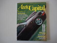 AUTOCAPITAL 7/1992 PORSCHE 911 TURBO S/FIAT TEMPRA SW/FORD ESCORT/LANCIA 037