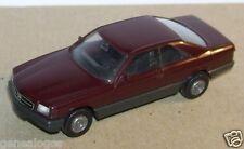 MICRO HERPA HO 1/86 1/87 BMW 560 SEC MARRON FONCE