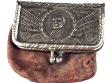 c.1921 ANTIQUE PRESIDENT WARREN G. HARDING COIN PURSE Patriotic 4th of July AAFA